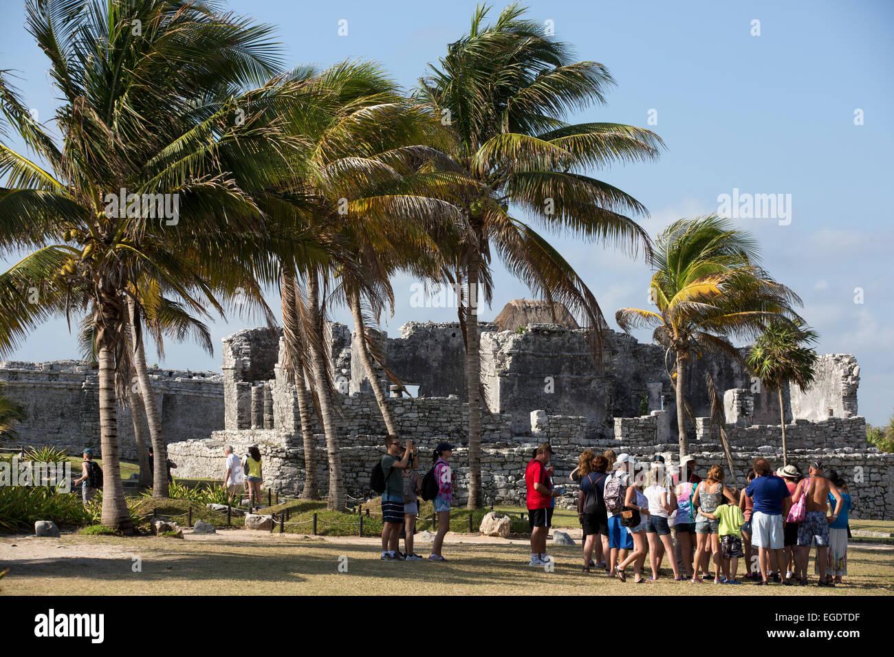 Tulum, Quintana Roo, Mexico - Stock Image