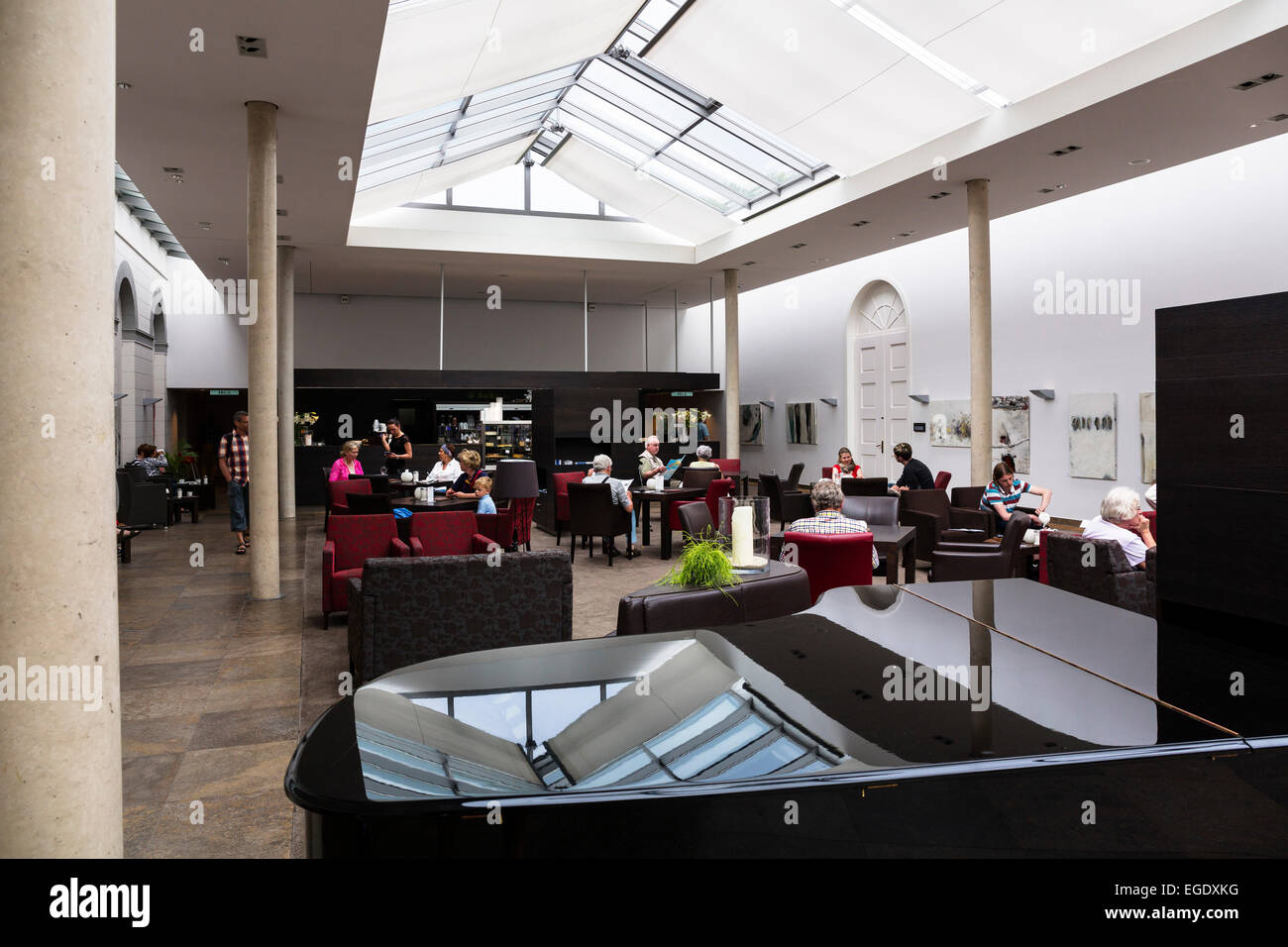 Conversation building, Norderney Island, Nationalpark, North Sea, East Frisian Islands, East Frisia, Lower Saxony, Stock Photo