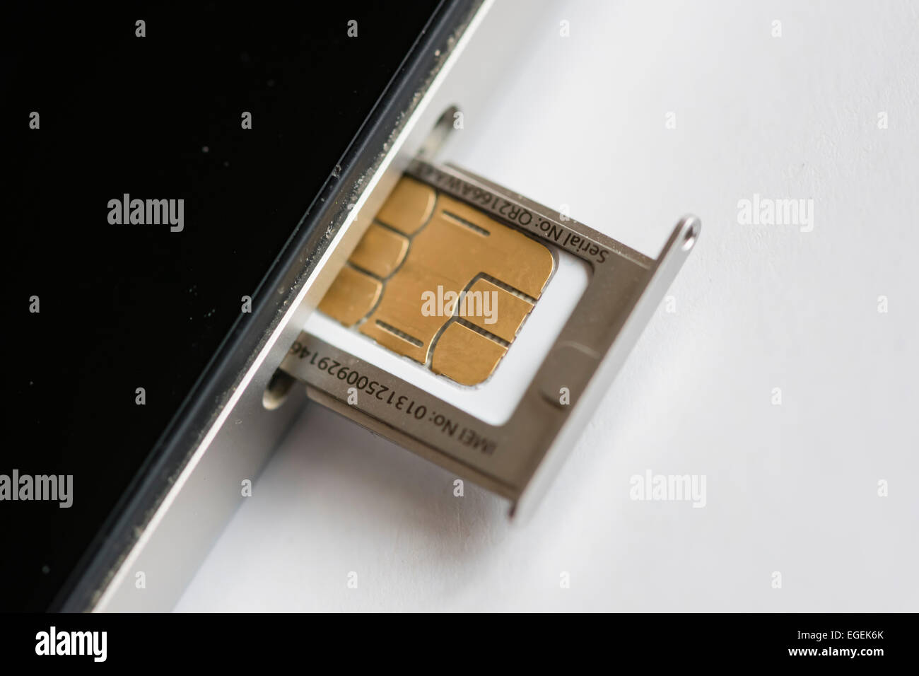 How to insert a sim card into the iPhone