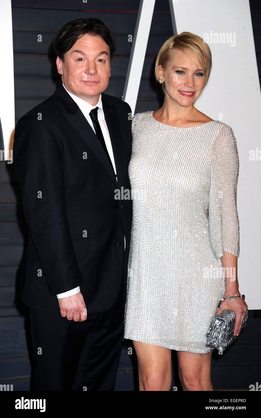 Mike myers 2014 wife