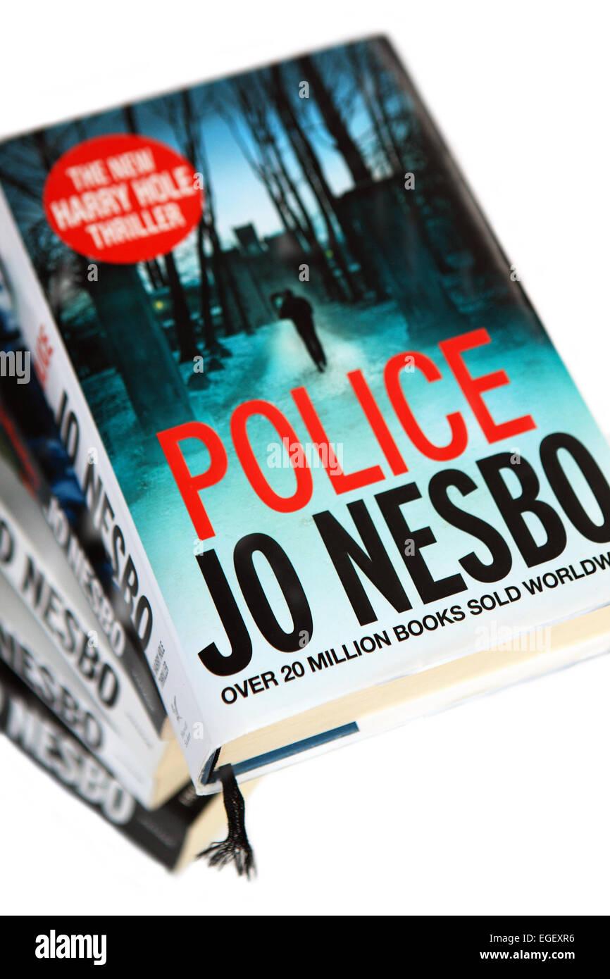 Books by Jo Nesbo - Stock Image