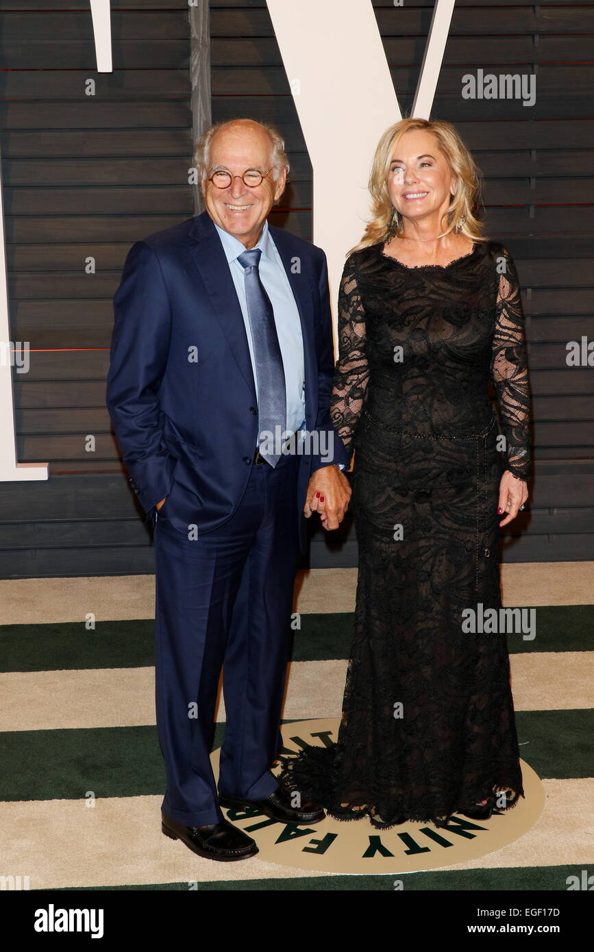 Singer Jimmy Buffett and his wife Jane Slagsvol Buffett attend the