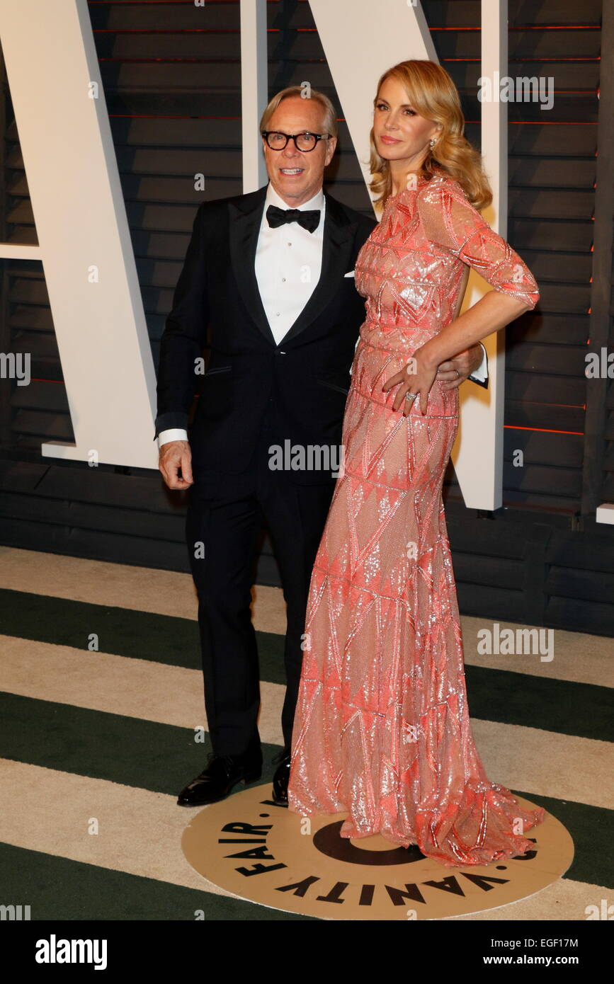 101505dd8 Fashion designers Tommy Hilfiger and partner Dee Ocleppo attend the Vanity  Fair Oscar Party at Wallis Annenberg Center for the Performing Arts in  Beverly ...
