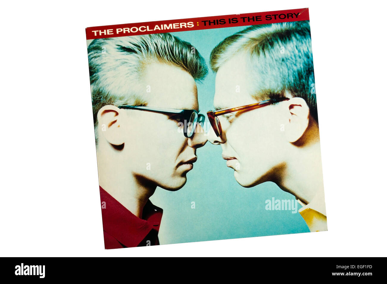 This Is the Story was the first album of The Proclaimers, released in 1987. - Stock Image