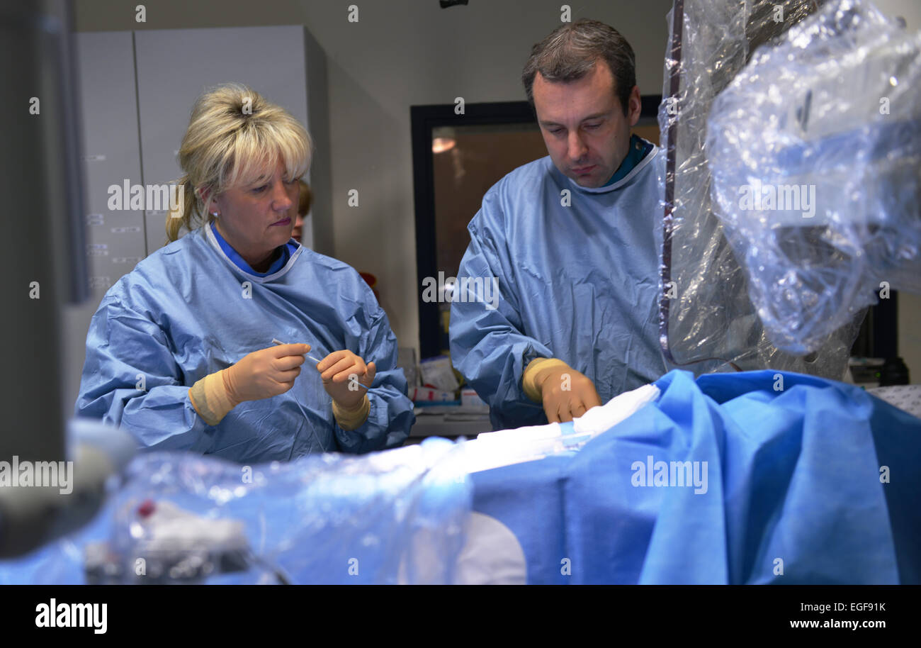 Cardiologists successfully deploy cardiac catheters