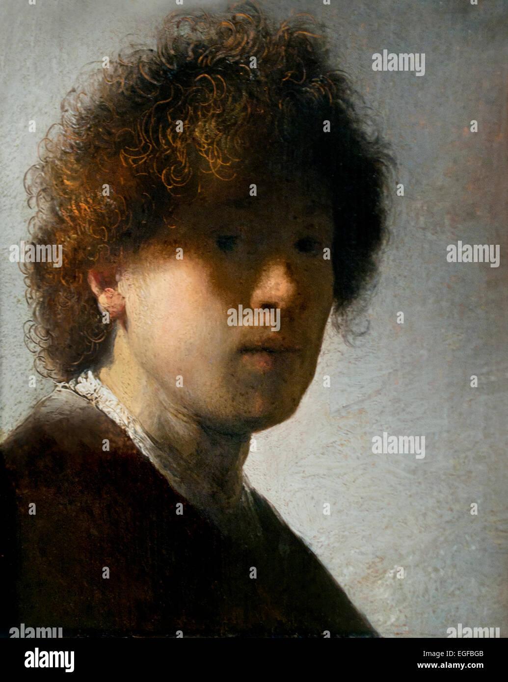 Rembrandt self portrait 1628