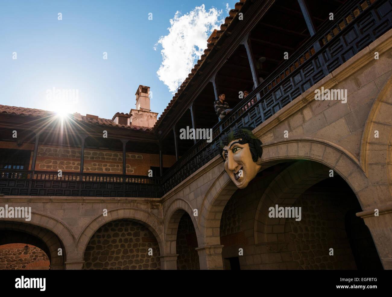 El Mascarón, Casa Real de la Moneda, Potosi, Southern Altiplano, Bolivia - Stock Image
