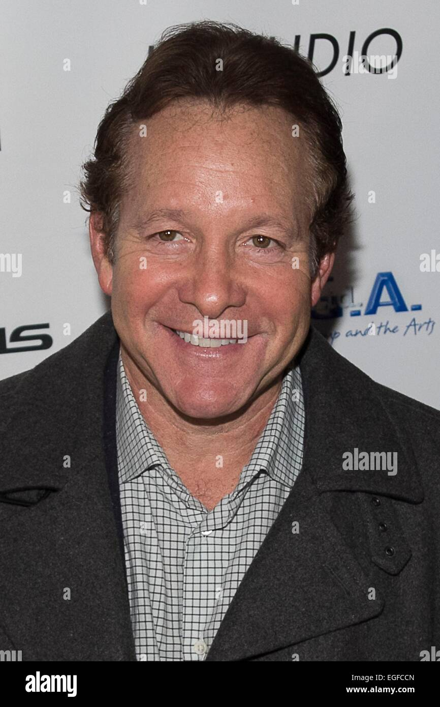 New York, NY, USA. 23rd Feb, 2015. Steve Guttenberg at arrivals for The Creative Coalition Hosts COP SHOW Premiere, Stock Photo