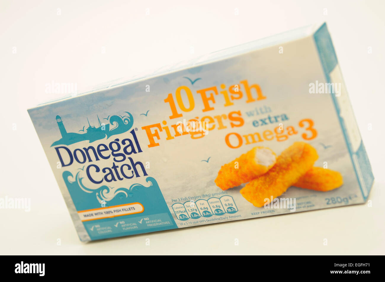 Donegal Catch Fish  Fingers - Stock Image