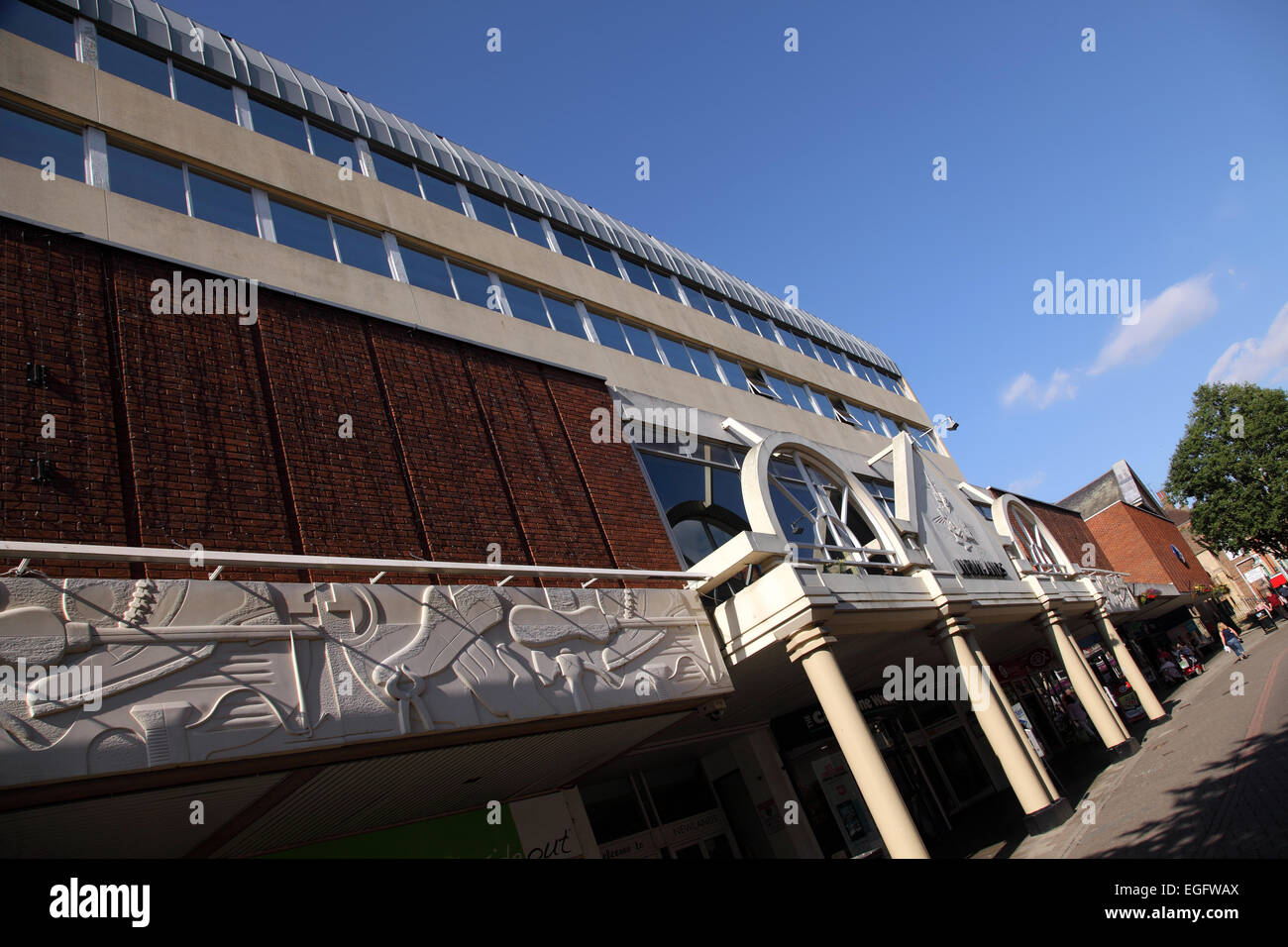 Newlands shopping centre kettering, Northamptonshire - Stock Image