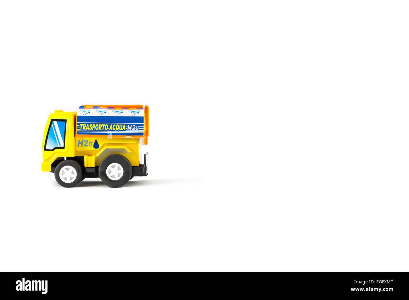 Toys H2O Tanker. Water transport . - Stock Image