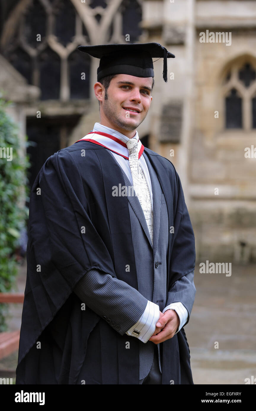 Graduate student - Stock Image