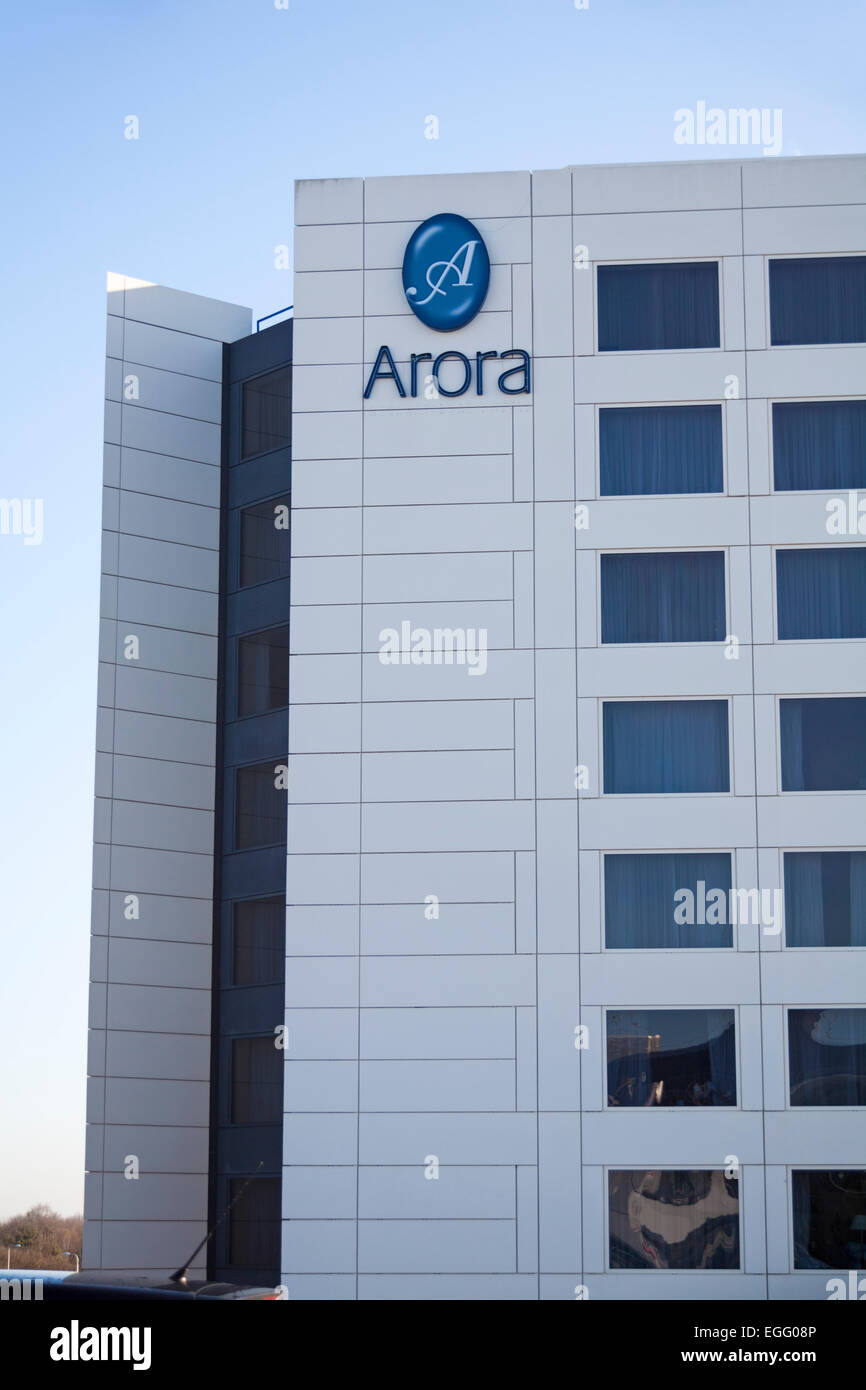 Arora hotel at London Gatwick Airport North Terminal, West Sussex - Stock Image