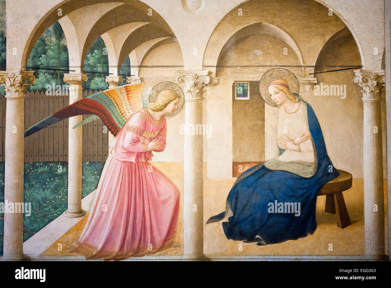 Italy, Florence, Convent of San Marco Stock Photo: 79029723 - Alamy