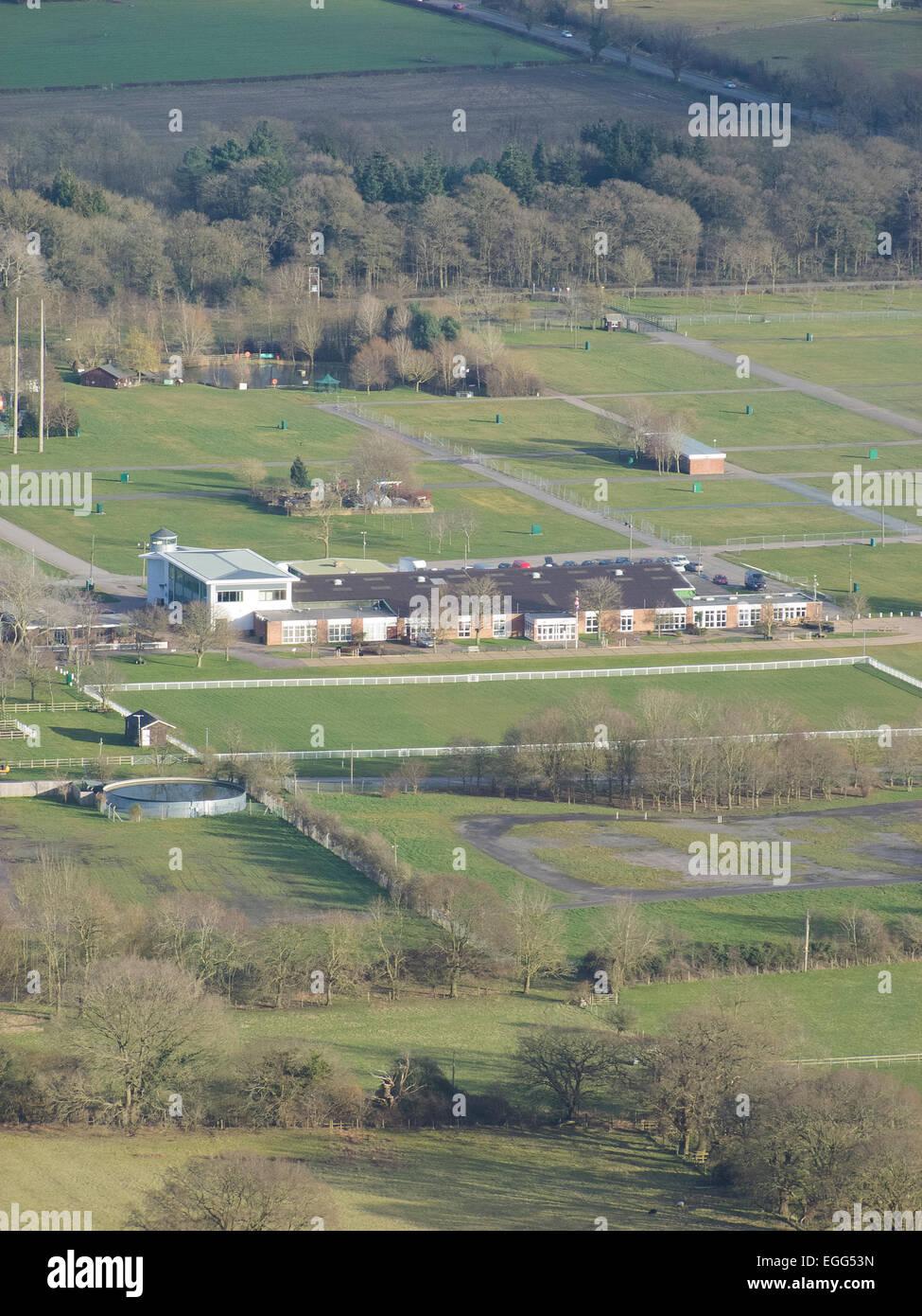 Three Counties Showground, Malvern Wells, Worcestershire, England, UK - Stock Image