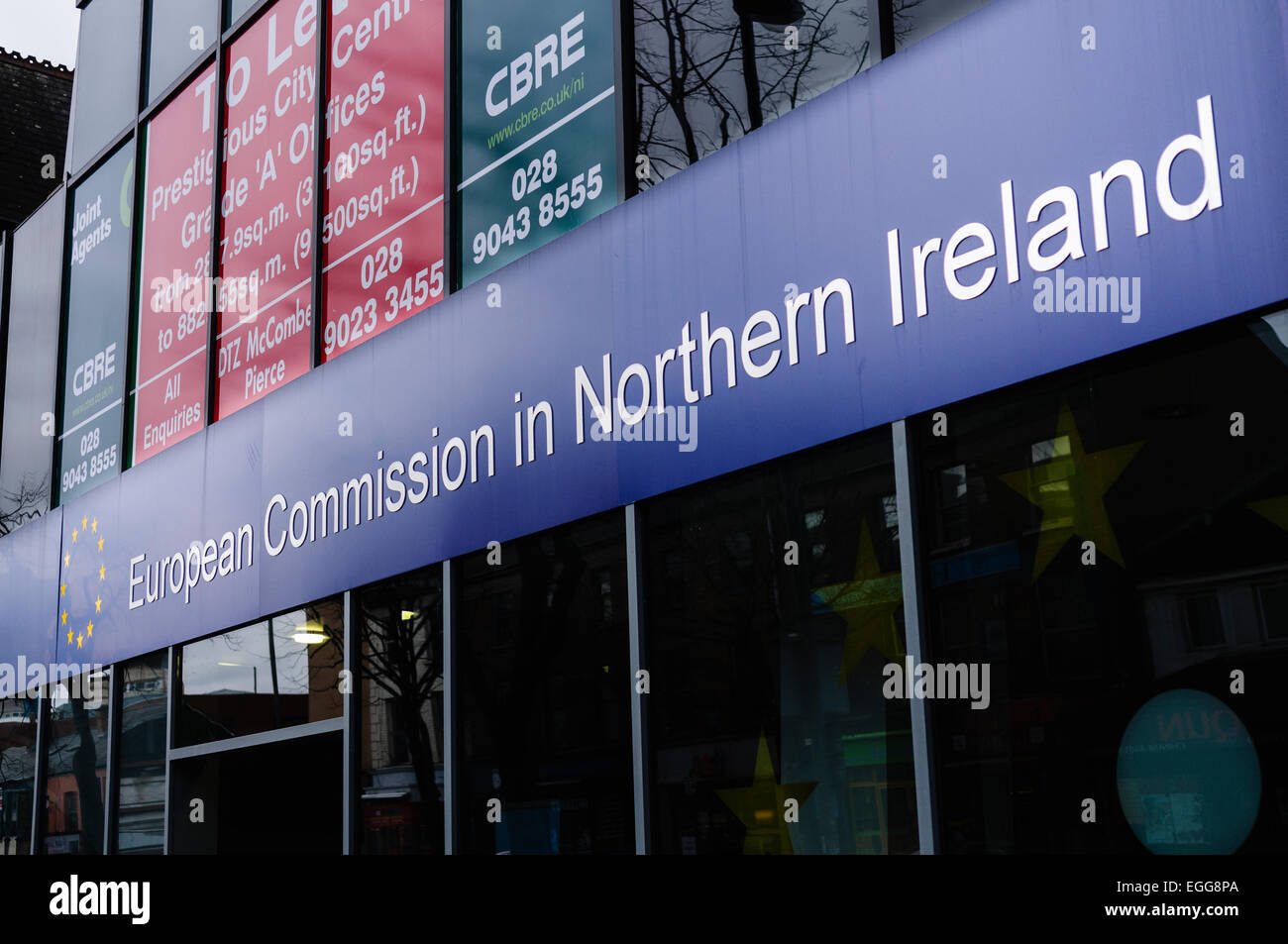 European Commission in Northern Ireland Stock Photo