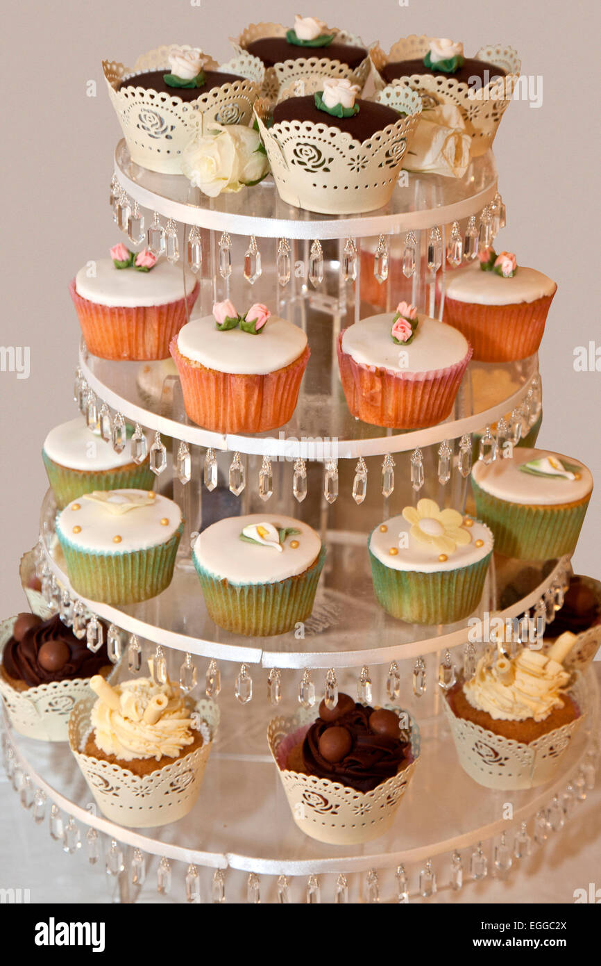Cup cakes - Stock Image