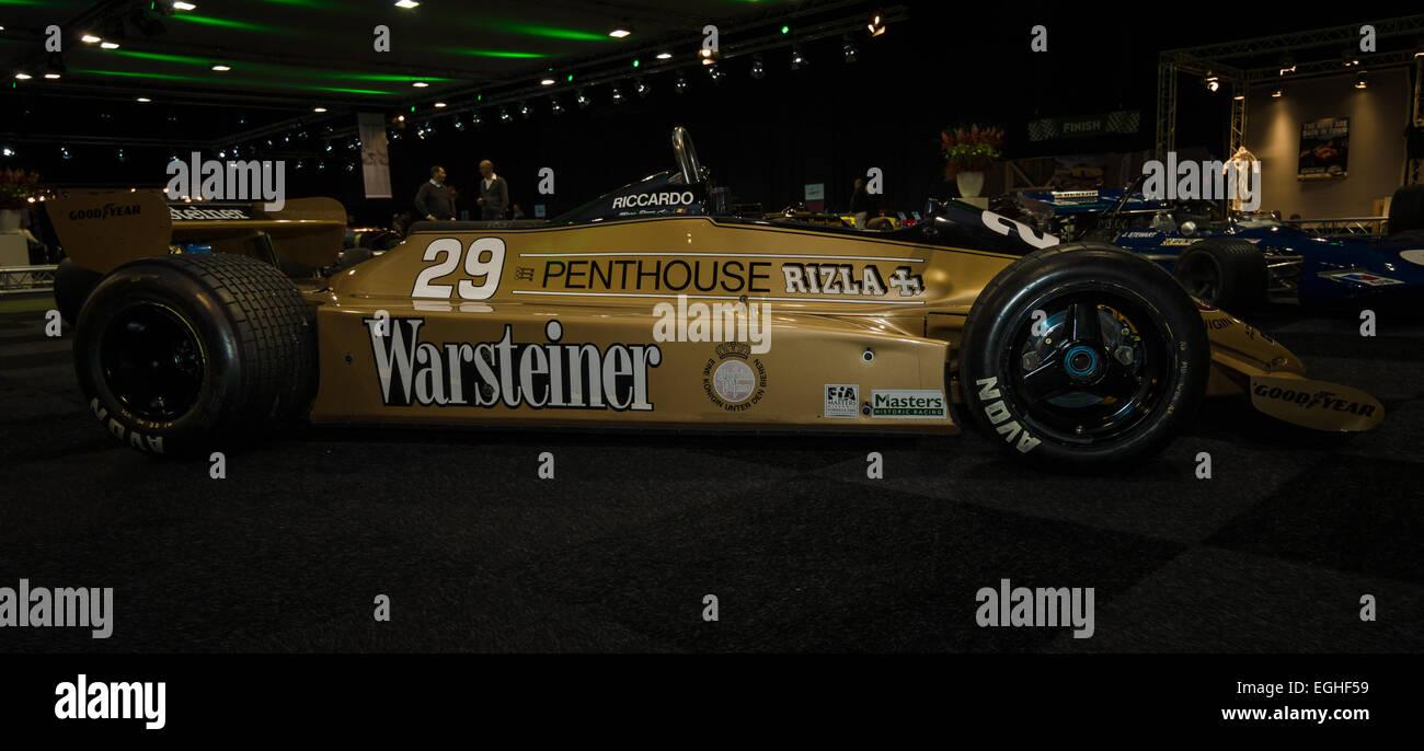 Formula One car Arrows A3, designed by Tony Southgate, 1980 - Stock Image
