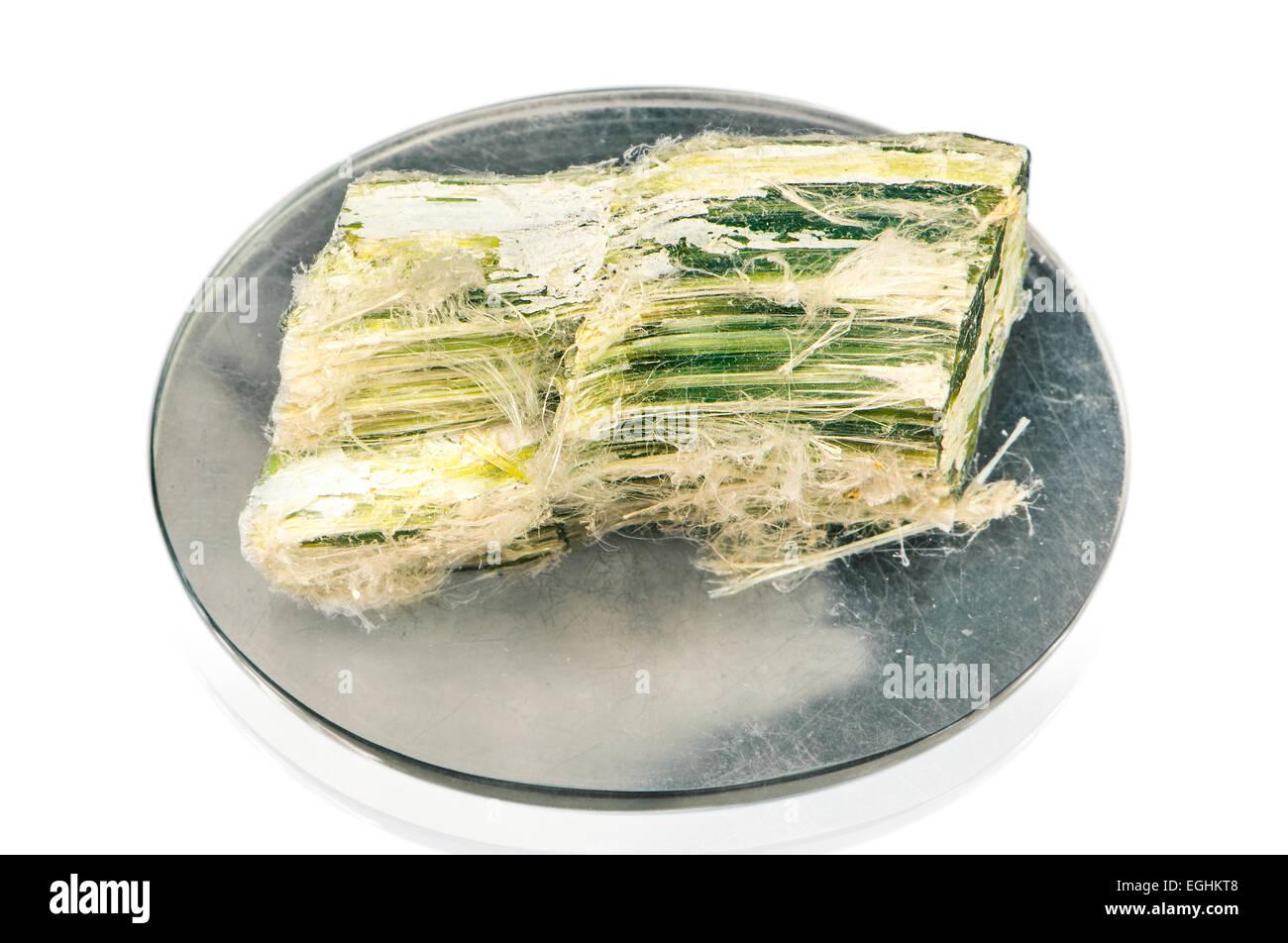 asbestos (salamander wool; mountain cork) - Stock Image
