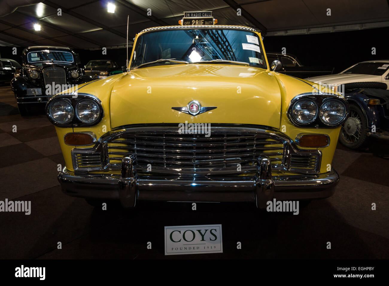 Oldtimer Checker Marathon Taxi, 1979. Stock Photo