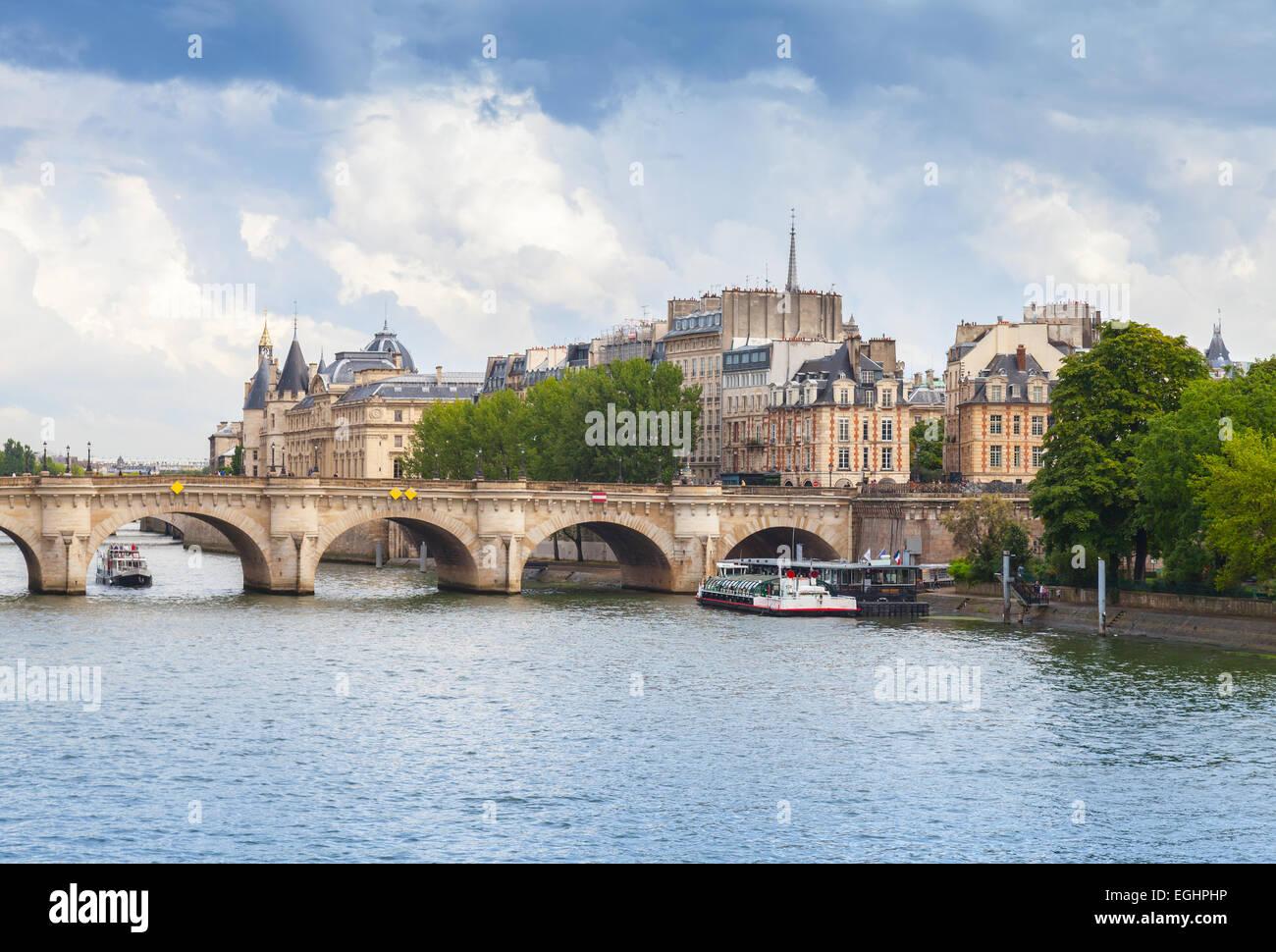 Island In River Seine