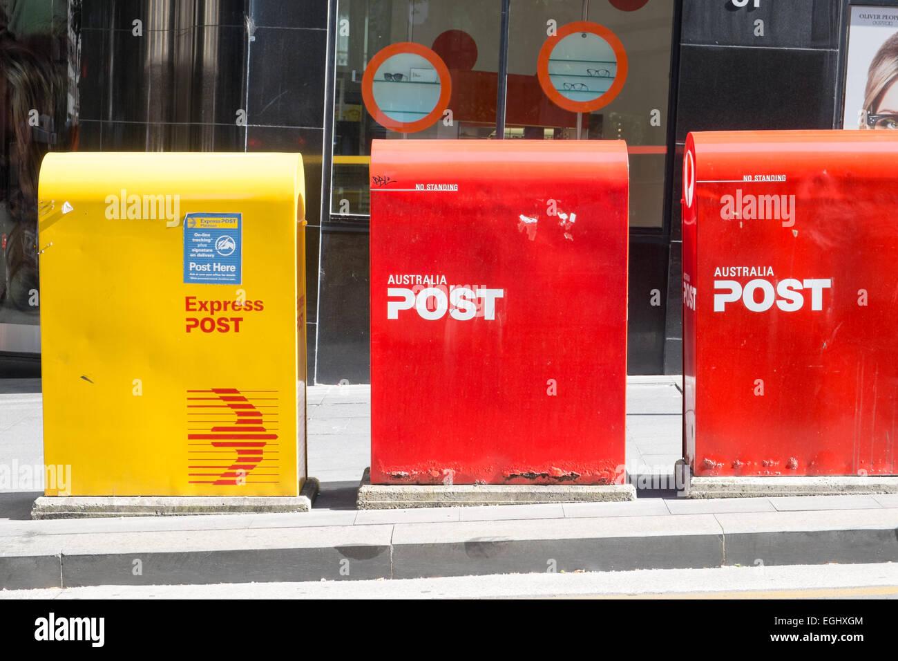 australia post mailboxes in Sydney Stock Photo: 79070004 - Alamy