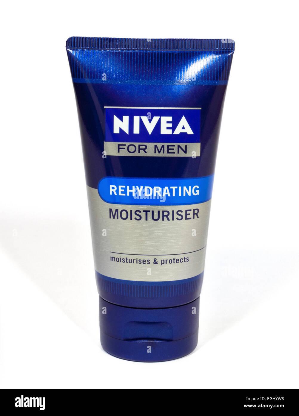 Nivea for Men Rehydrating Moisturiser - Stock Image