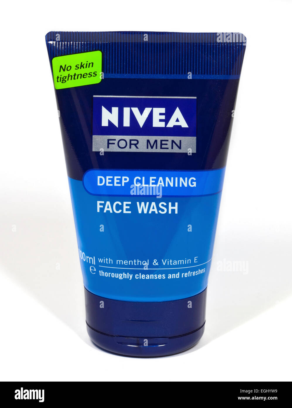 Nivea for Men Deep Cleaning Face Wash - Stock Image