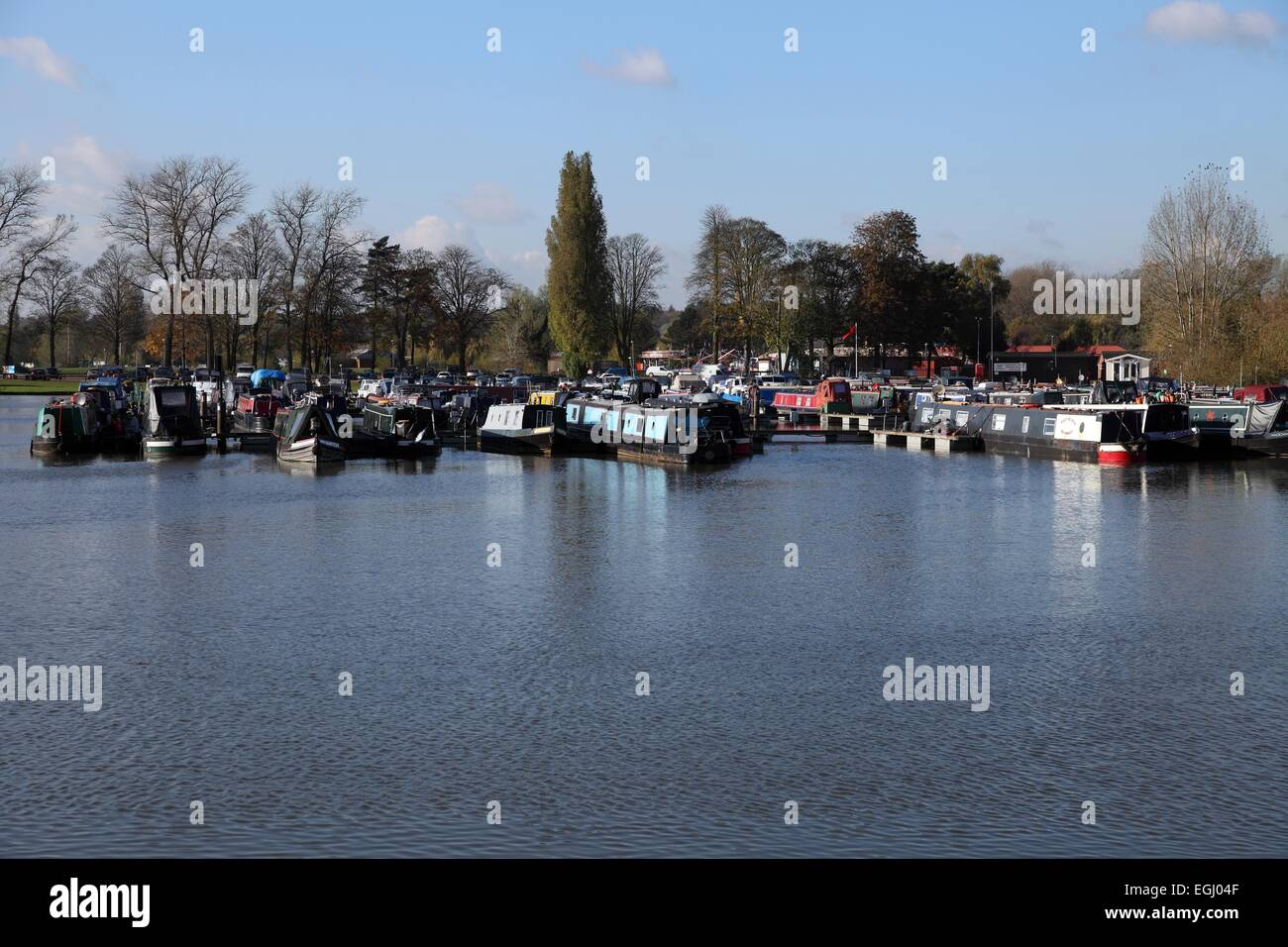 Billing Aquadrome a leisure park in Great Billing, Northampton, England. 235 acres of lakes and parkland - Stock Image