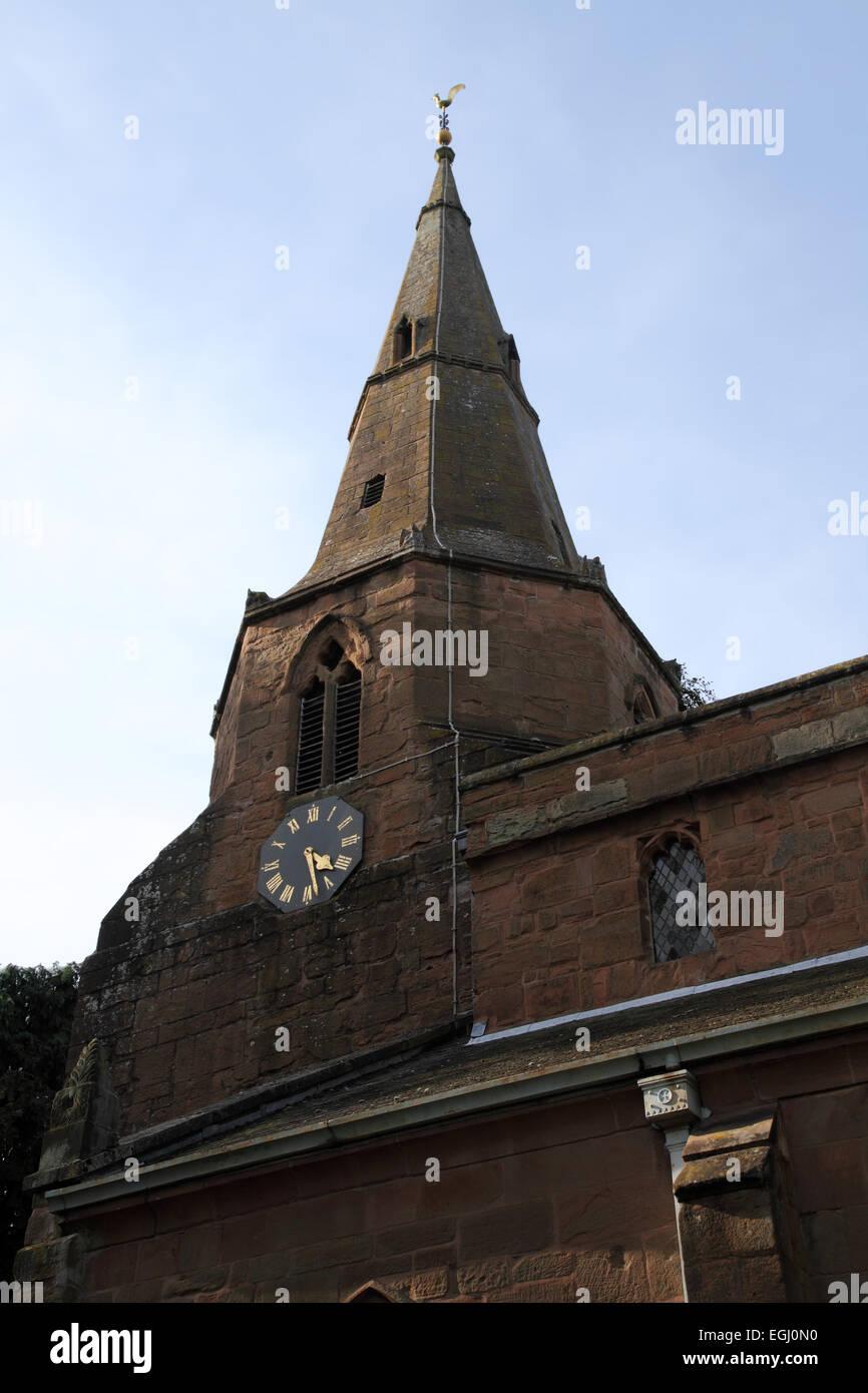 St Nicholas Church Kenilworth - Stock Image
