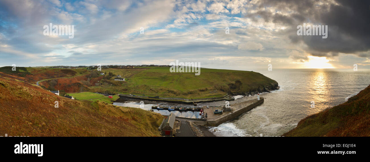 Caithness, Lybster harbour - Stock Image
