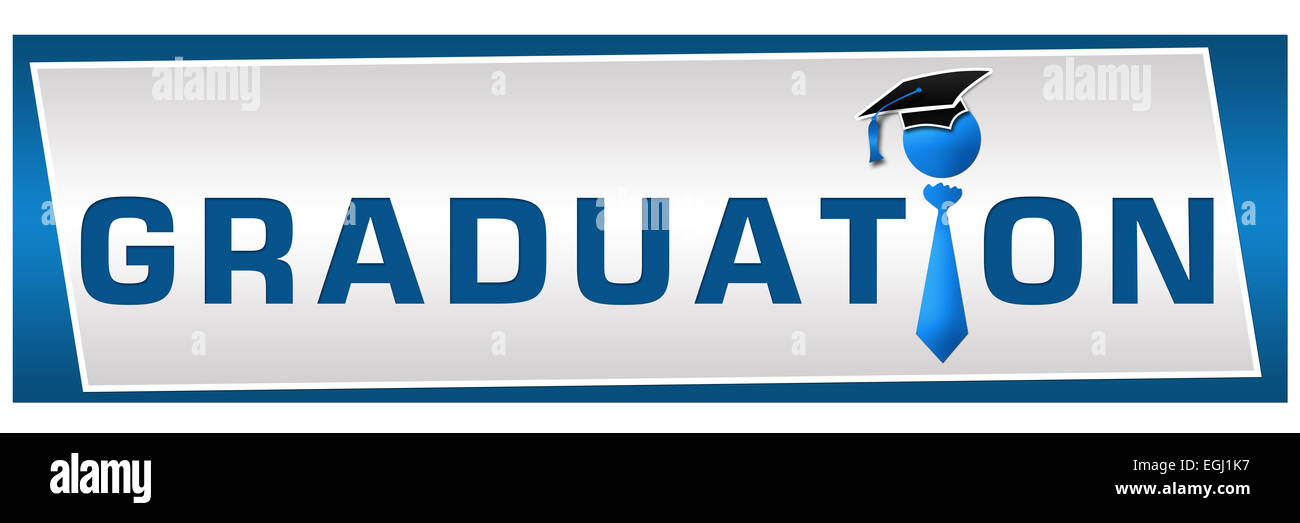 Graduation Horizontal - Stock Image