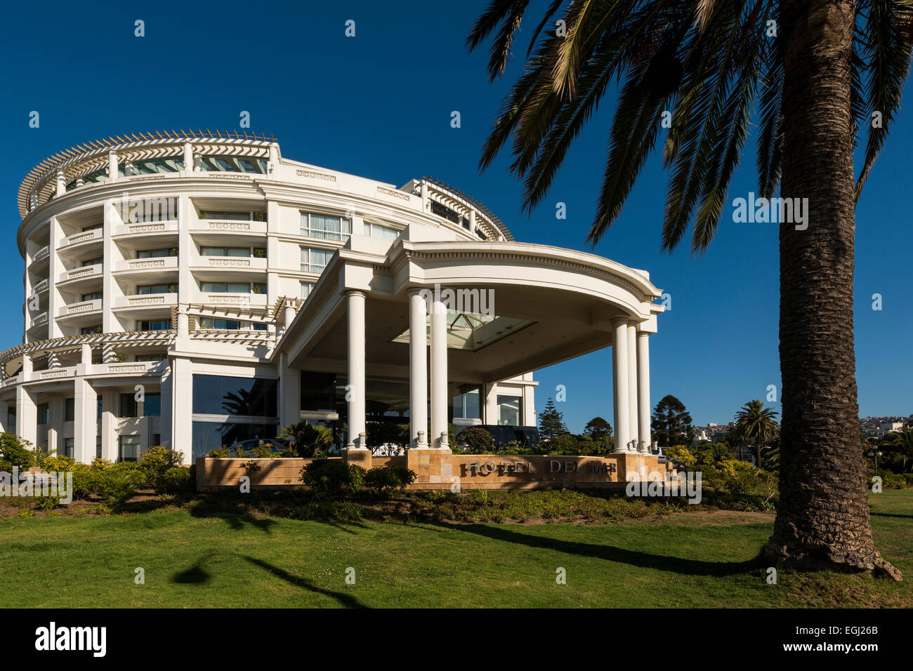 Casino, Viña del Mar, Central Coast, Chile - Stock Image