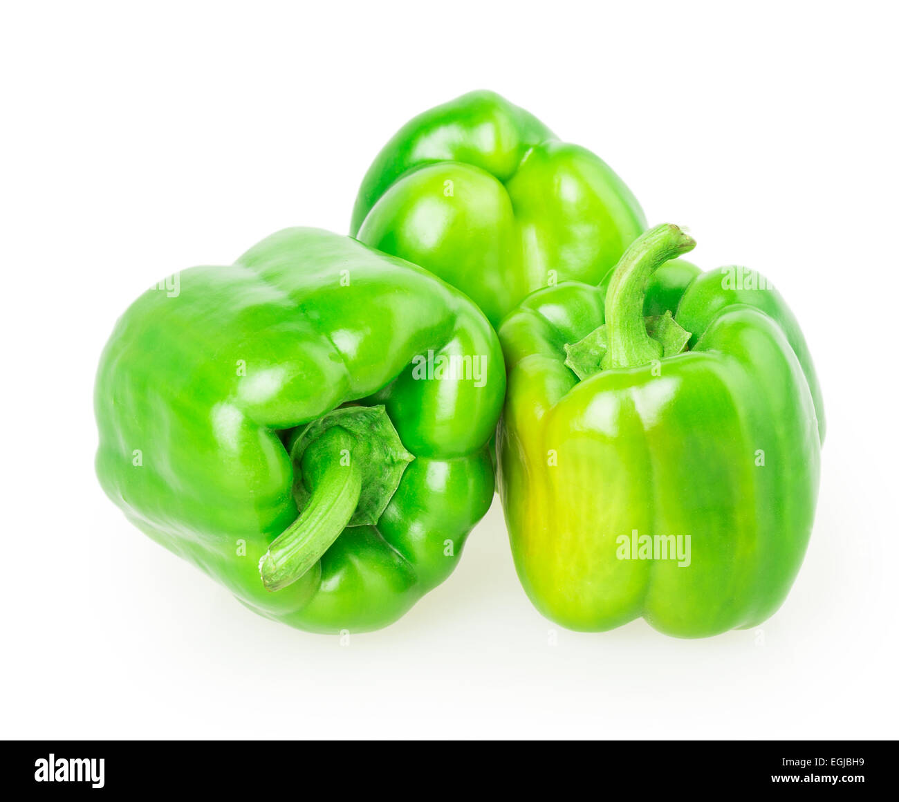 pepper isolated on white background Stock Photo