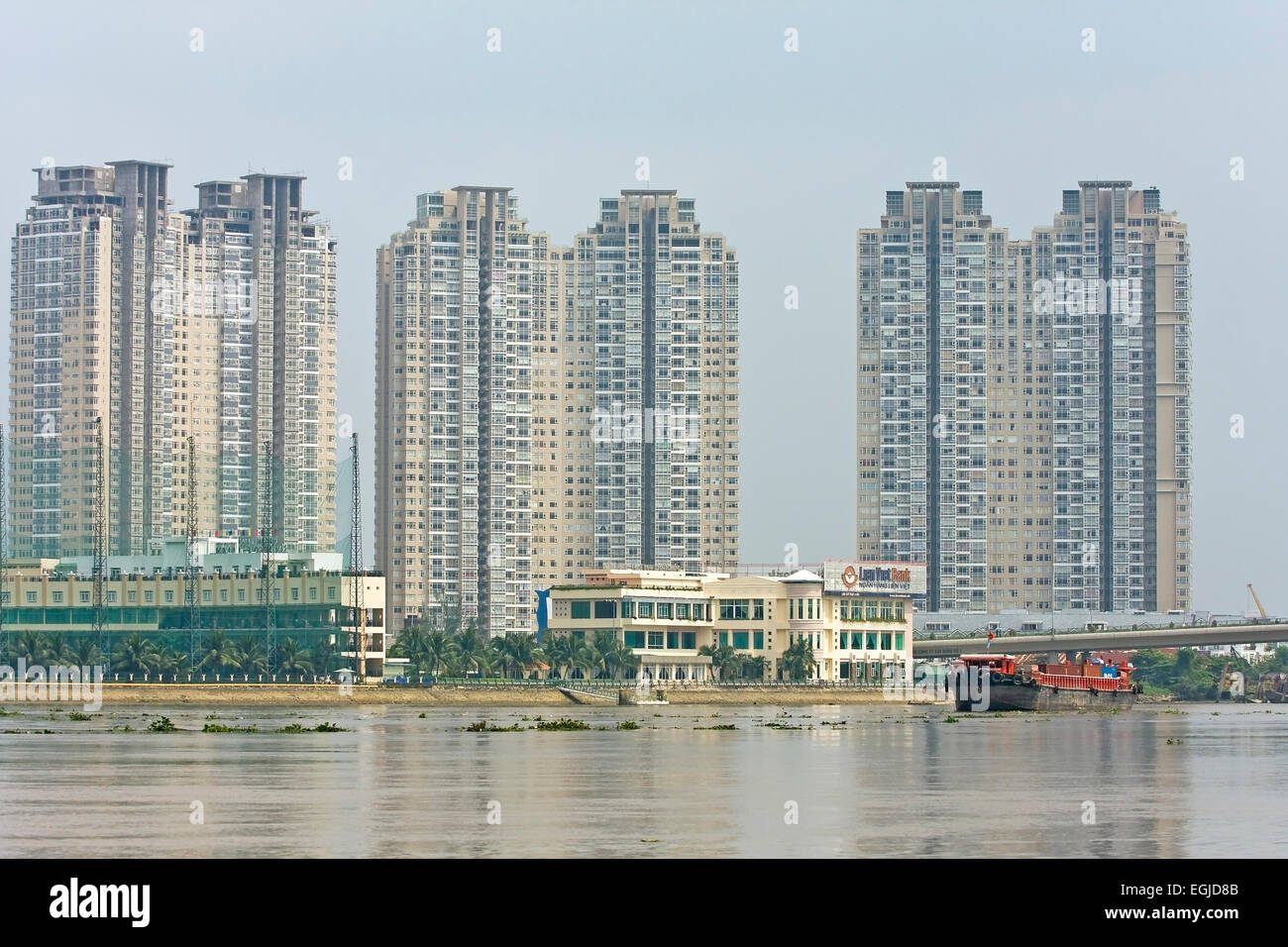 Modern residential buildings high rise buildings in Modern residential towers