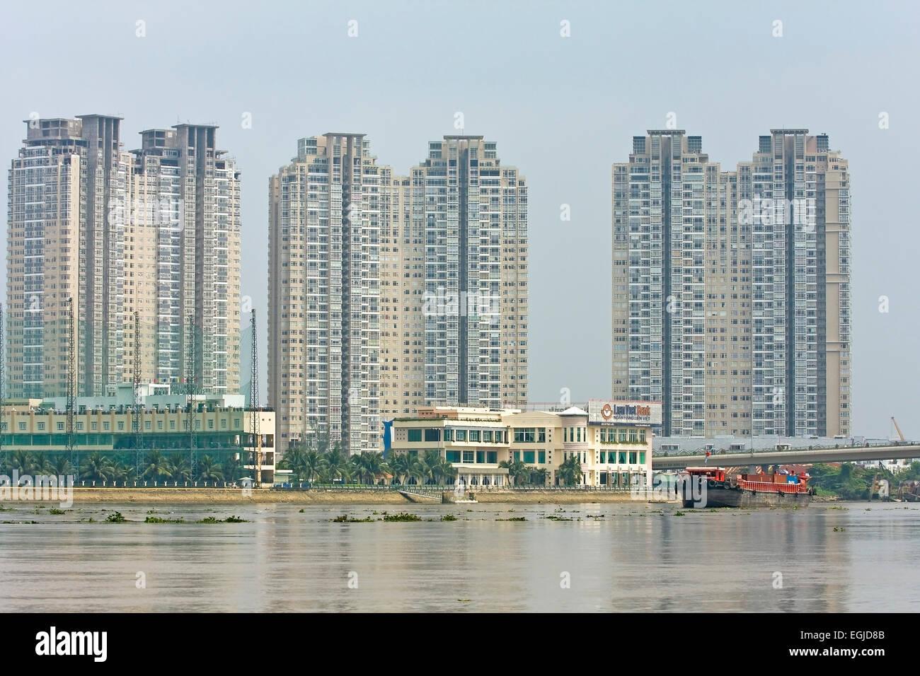 Modern residential buildings high rise buildings in Modern residential towers