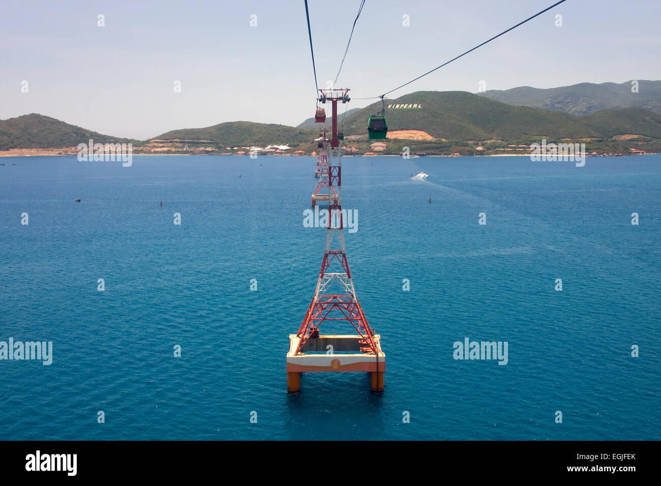 Island Vinpearl Nha trang, Vietnam, Asia - Stock Image