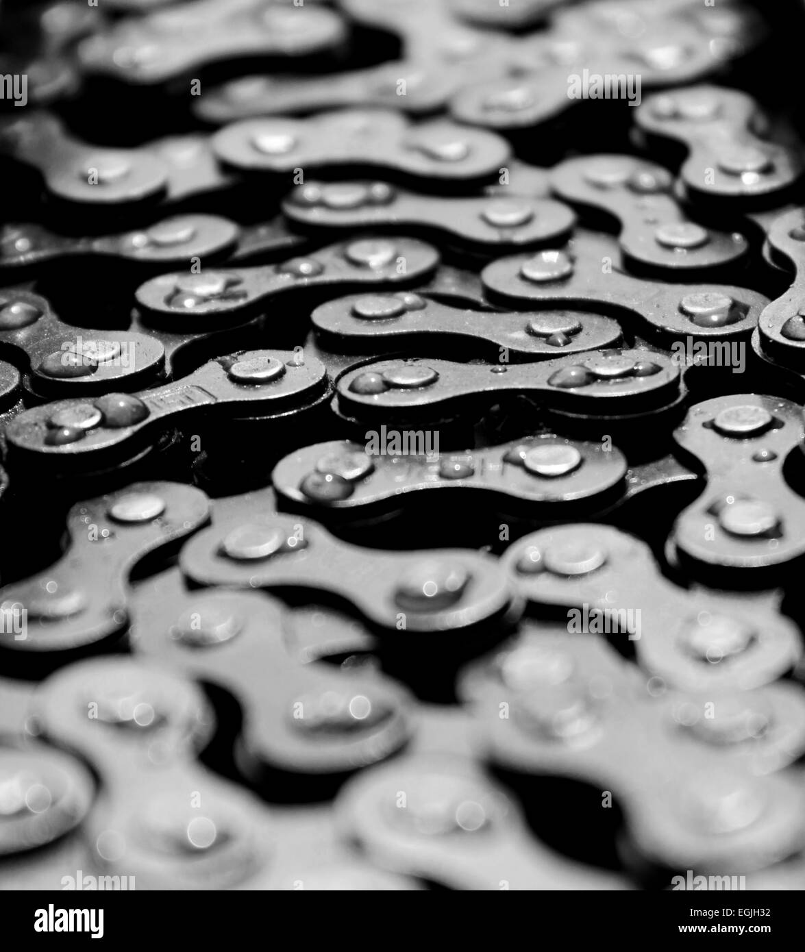 Chains - Stock Image
