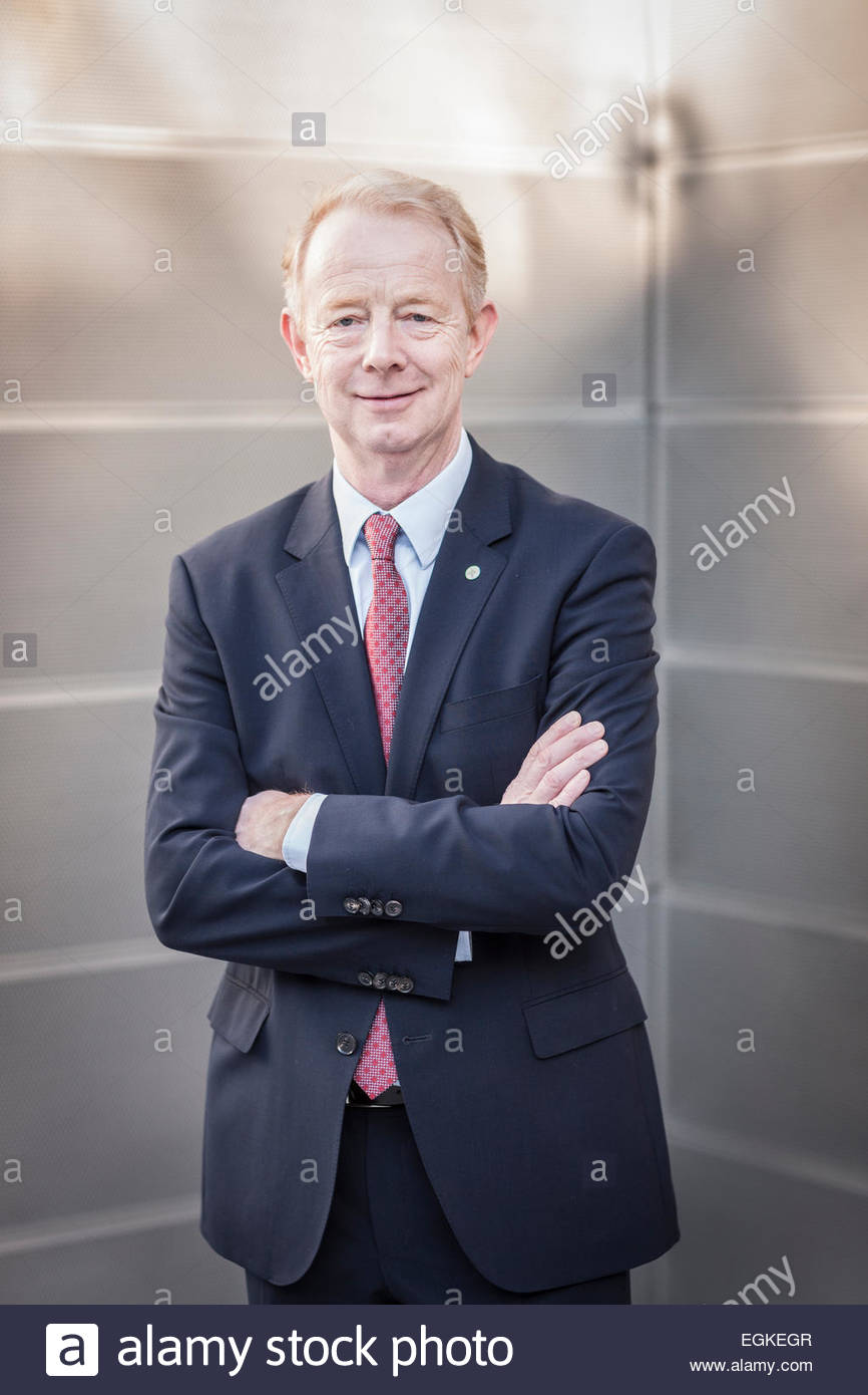 Marijn Emmanuel Johannes Dekkers, CEO of Bayer AG, a german chemical and pharmaceutical company Stock Photo