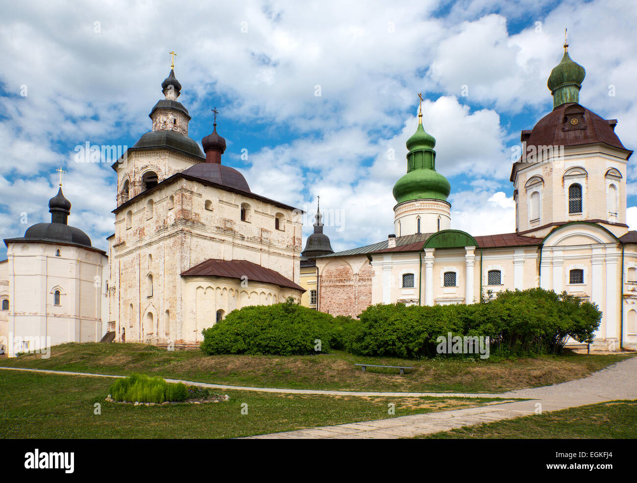 Russia, Goritsy, the Kirillo Belozersky Monastry - Stock Image