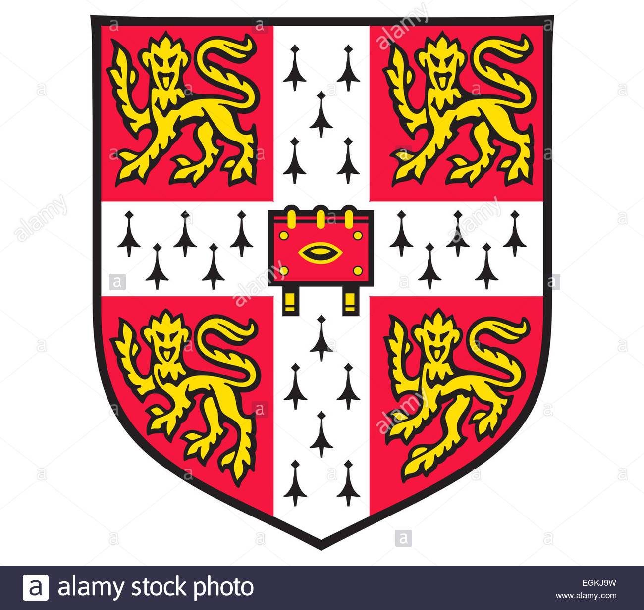 Cambridge University logo icon symbol Stock Photo