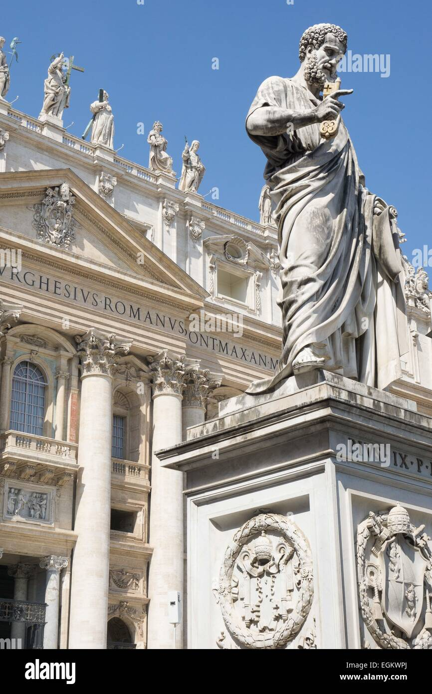 Statue Of St. Peter, Saint Peter's Basilica, The Vatican