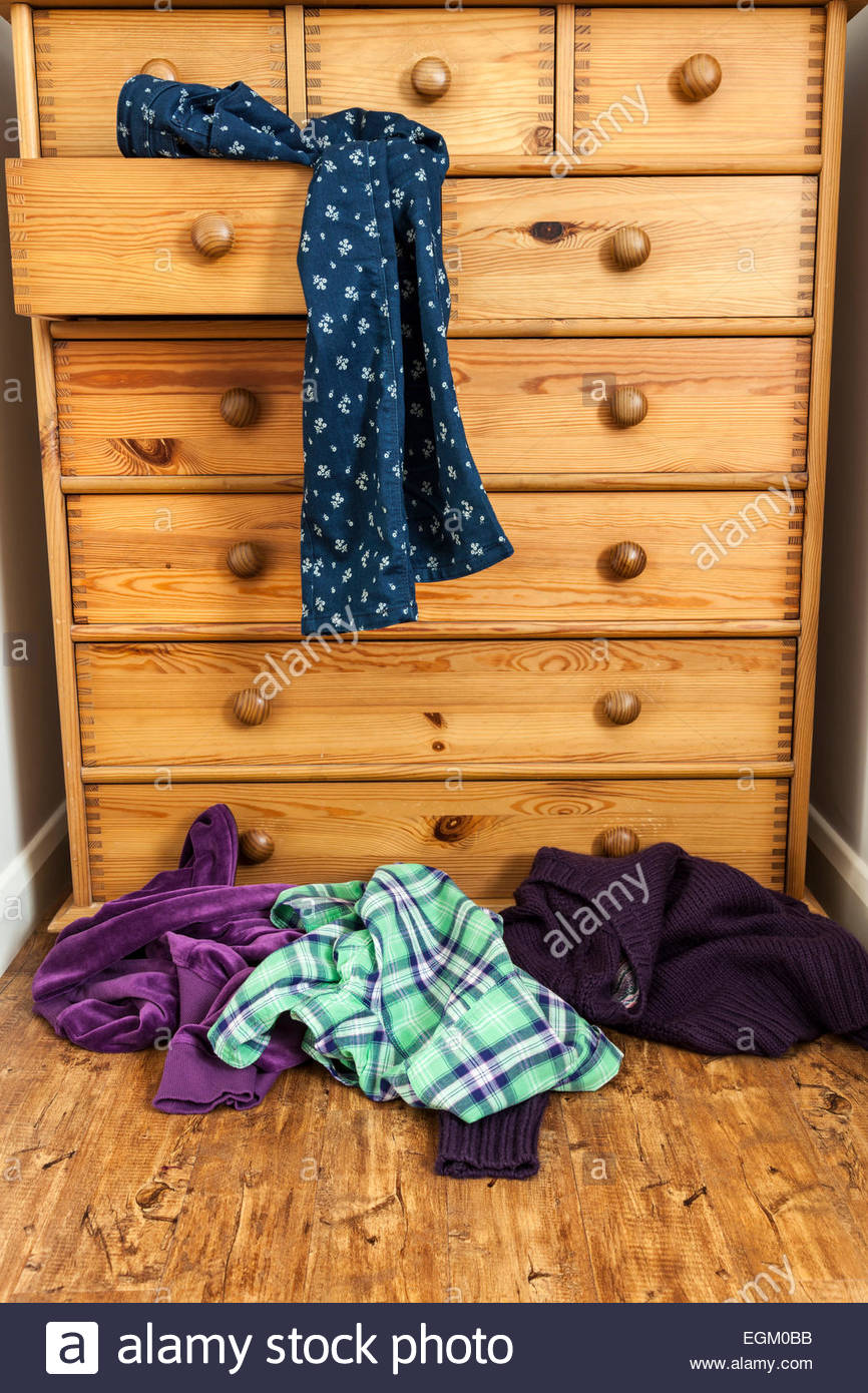 Drawer Clothes Stock Photos Amp Drawer Clothes Stock Images