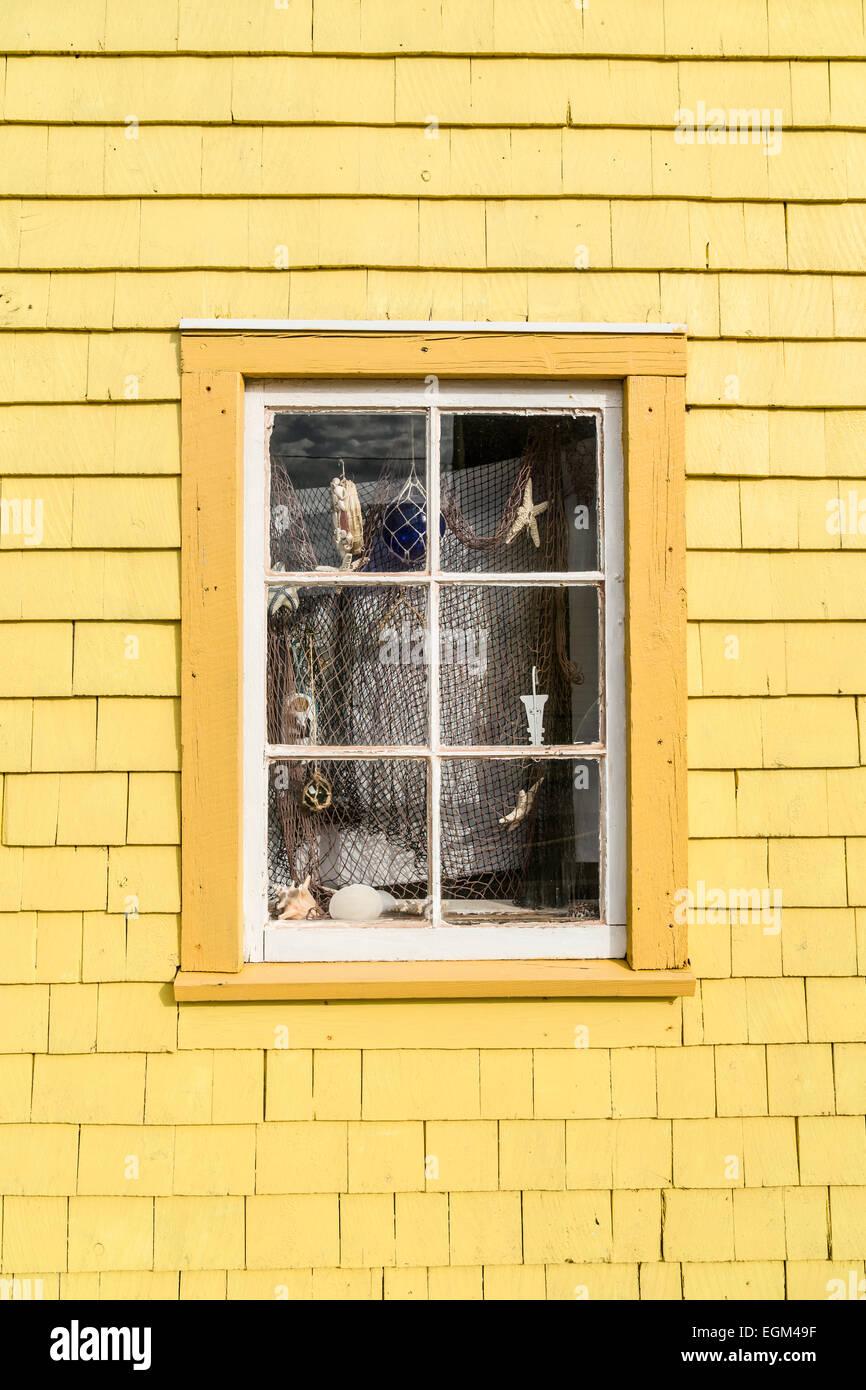 Shingles Wall Window Stock Photos & Shingles Wall Window Stock ...