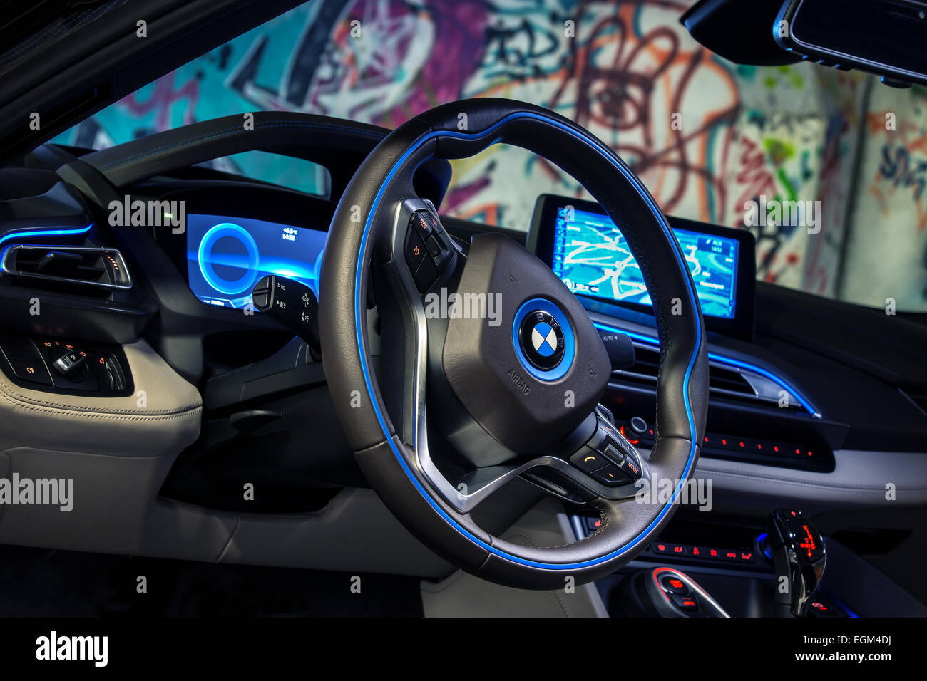 Bmw I8 Roadster Stock Photos Bmw I8 Roadster Stock Images Alamy