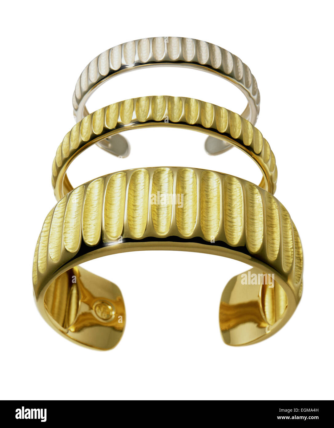Three Bracelets - Stock Image