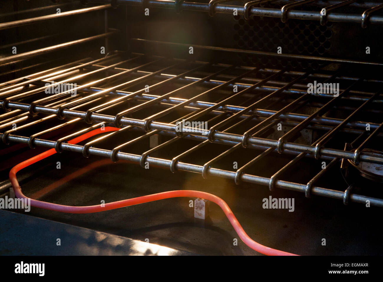 Electric Oven and Heating Coil - Stock Image