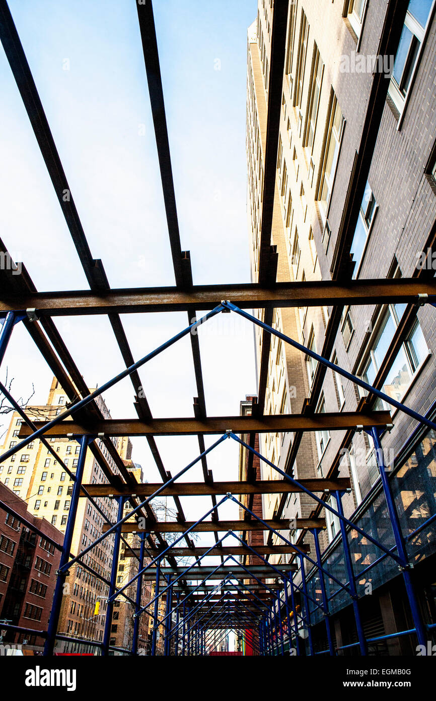 New York Building Scaffolding Stock Photos Amp New York