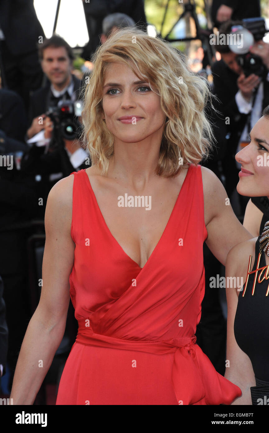 """CANNES, FRANCE - MAY 20, 2013: Alice Taglioni at the gala premiere for  """"Blood Ties"""" at the 66th Festival de Cannes."""
