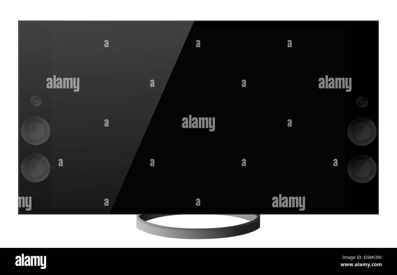 tv 4k - Stock Image
